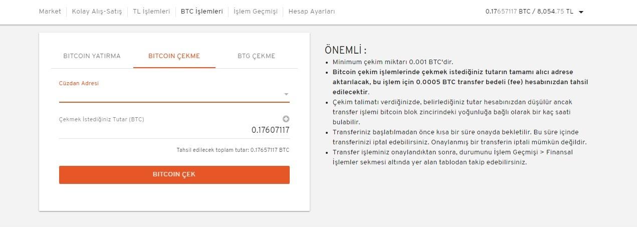 Paribu'dan Binance Borsasına Bitcoin Aktarmak