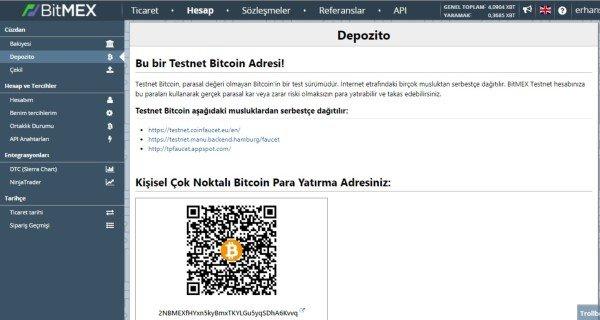 Bitmex Para Yatırmak