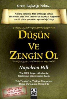 Düşün ve Zengin Ol Napoleon Hill- Kişisel Gelişim Kitapları
