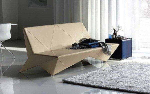 Japon Kağıt Katlama Sanatı Olan Origami ile Yapılmış Mobilya Tasarımı