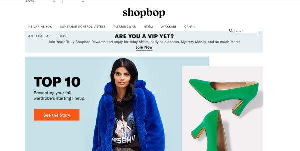 Shopbp web sitesi