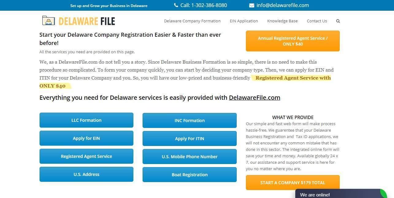 Delaware'de Şirket Kurmak