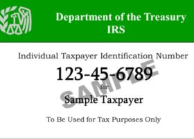 itin (individual taxpayer identification number)